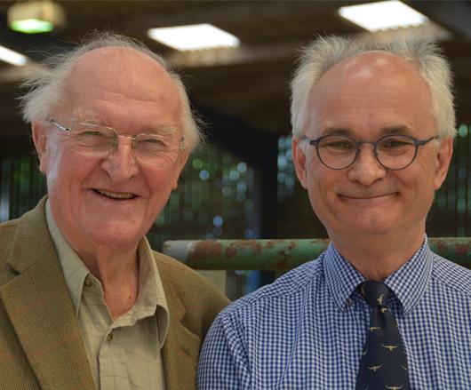 Lord Plumb of Coleshill celebrates his 90th birthday at Springbarrow Lodge