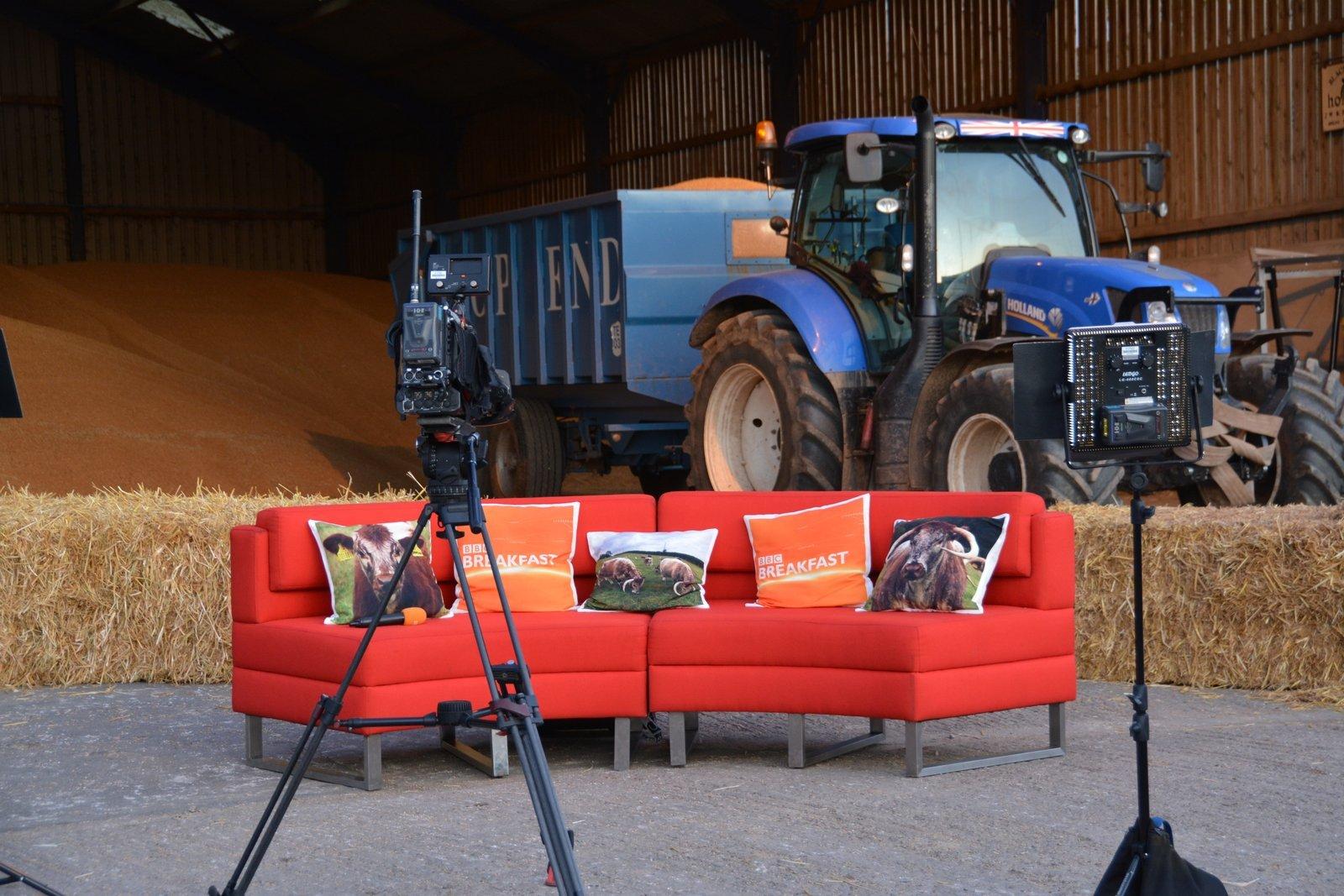 BBC Breakfast Hosting At Blackbrook Farm